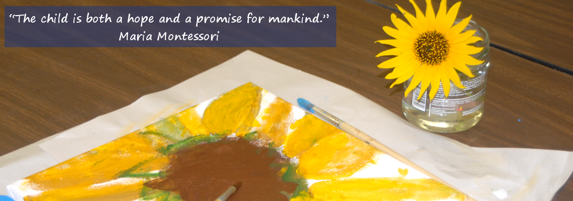 The child is both a hope and a promise for mankind, Redeemer Montessori School